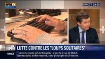 """Le Soir BFM: Le député UMP Guillaume Larrivé propose une loi pour traquer les """"loups solitaires"""" - 03/06 3/4"""