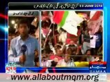 MQM Workers & Supporters Sit In At Numaish Karachi To Show Solidarity With QET Altaf Hussain