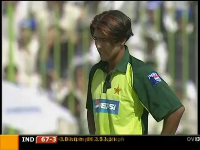 _THE FASTEST BALL IN CRICKET HISTORY_ - CHECK THE SPEED! - 162.3 KPH BOWLED BY MOHAMMAD SAMI