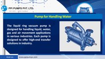 The Unrevealed Specialties of Industry Friendly Vacuum Pumps and Blowers - www.ppipumps.com