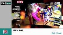 Zapping Télé du 4 juin 2014 - Une candidate de télé réalité ne supporte plus d'être filmée et casse une caméra !