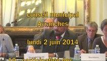 conseil municipal > Avranches > 2 juin 2014 > écoles publiques - écoles privées - trésorier