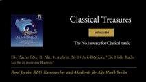 """Wolfgang Amadeus Mozart - Die Zauberflöte: II. Akt, 8. Auftritt. Nr.14 Arie Königin: """"Die Hö..."""