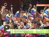 El público francés ovacionó de pie a la Orquesta Sinfónica Juvenil Teresa Carreño