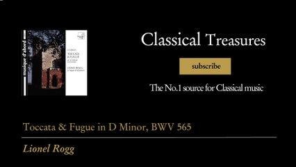 Johann Sebastian Bach - Toccata & Fugue in D Minor, BWV 565