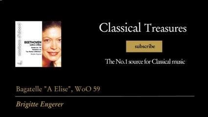 """Ludwig van Beethoven - Bagatelle """"A Elise"""", WoO 59"""