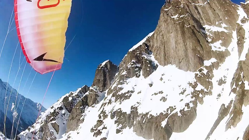 UGOSPEED - Le Brévent - Speed riding vs Wingsuit - by novamotion