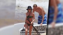 Abbey Clancy and Peter Crouch Enjoy Hawaii