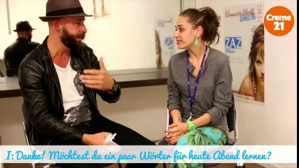 Backstage Interview Nina Attal by WOTW Festival & Creme21