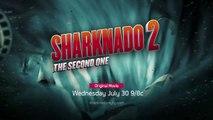 Sharknado 2: The Second One Official Teaser Trailer (2014) - Ian Ziering, Tara Reid, SyFy HD