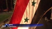 Syrie: célébrations à Damas après la réélection d'Assad