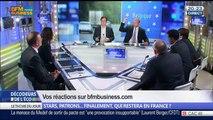 Exil fiscal: Stars, patrons… finalement qui restera en France ?, dans Les Décodeurs de l'éco - 04/06 5/5