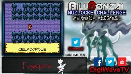 [BillBonzai] Le nuzlocke challenge sur pokemon crystal avec Alfeust (19/24)