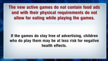 Active Video Games Will Give Kids More Exercise
