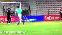 Yıldız Futbolcuların Antrenmanlarda Attığı Güzel Goller
