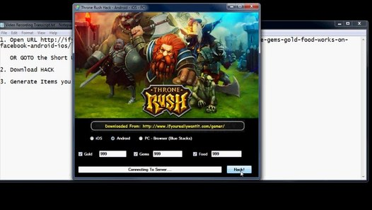 Throne Rush Cheats Hacks - 100% Success Rate - Unlimited Everything