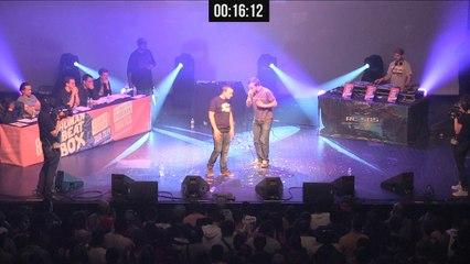 NIN'OZ vs CHARLIE BROWN - 1/8 finale homme