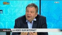 Vidéo sur internet: comment gérer les flux?: Jérôme Renoux, Jean-Luc Vuillemin et Antoine Clément, dans 01Business - 07/06 3/4
