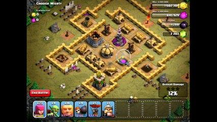 Clash Of Clans Level 41 - Choose Wisely