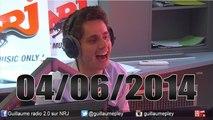 Best of vidéo Guillaume Radio 2.0 sur NRJ du 04/06/2014