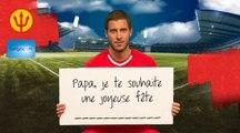 Message d'EDEN HAZARD pour la fête des pères ! - Bonne fête Papa !