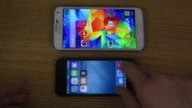 GTA San Andreas iPhone 5S iOS 8 vs. Samsung Galaxy S5 - Gaming Comparison Review