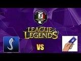 League of Legends: Highlights SnowBall eSports vs Briscola Esports