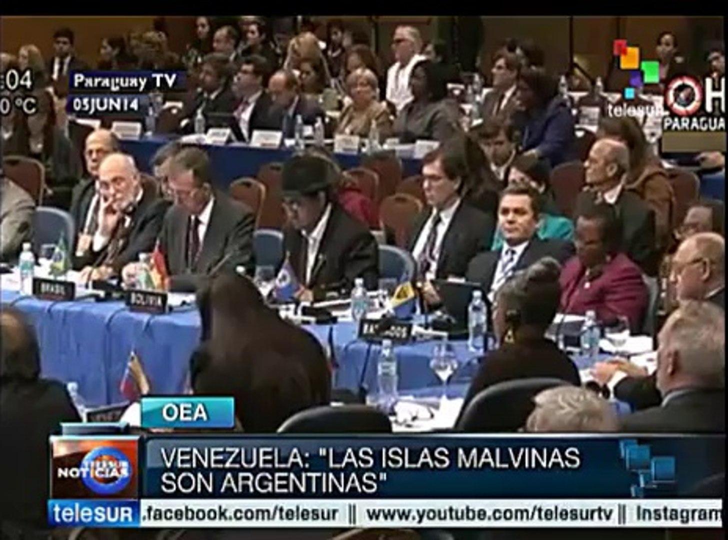 Las Islas Malvinas son argentinas: Venezuela