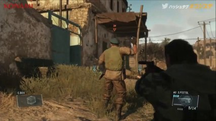 Metal Gear Solid V: The Phantom Pain - Trailer Gameplay (PS4)