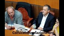 #Corse Interpellations, répression, convocations - et le processus politique ? Question posée par Jean Marie Poli à l'Assemblée de #Corse
