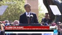 """Barack Obama : """"La liberté ne peut pas perdurer si nous ne sommes pas prêts à mourir pour elle"""""""