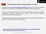 Anti-infectious Disease Drugs Markets in China