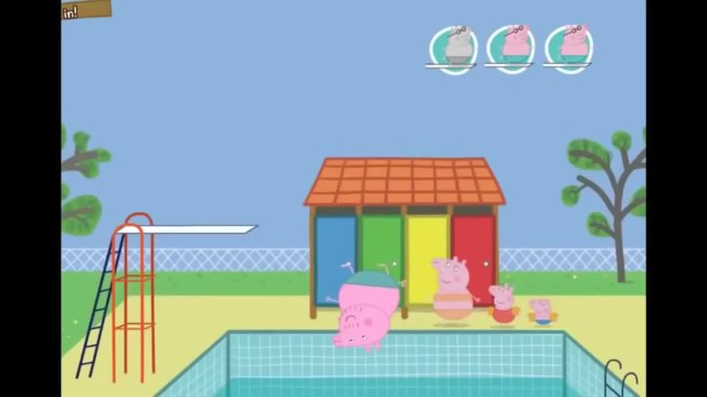 Peppa Pig Full Episodes GamePlay in English   Peppa Pig New Movie Game 2014   Peppa  & Daddy Pig