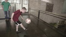 Awesome Soccer Trick shots fo the new McDonald's ads! FIFA World Cup - Brasil 2014