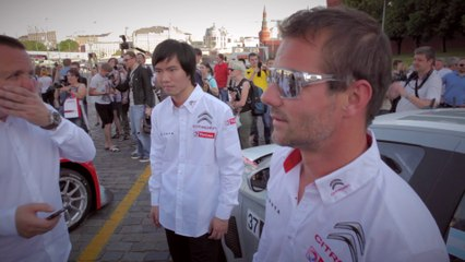 Ma Qing Hua presents the Moscow Raceway - Citroën WTCC 2014