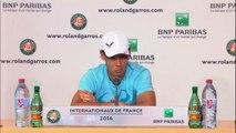 """Roland Garros - Rafa Nadal: """"He jugado el mejor tenis en mucho tiempo"""""""