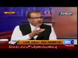 Mujeeb Ur Rehman Shami Got Hyper When a Person Criticized Nawaz Shareef