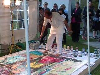 performance artistique Our 2014