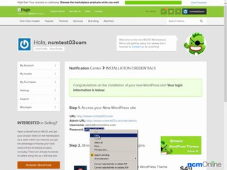 How to install WordPress on iPage web hosting