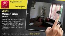 A vendre - maison - SAINT MAUR DES FOSSES (94210) - 4 pièces - 80m²