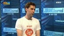 La révolution du transfert de fichiers en ligne: Infinit s'attaque à Dropbox: Baptiste Fradin, dans Le Grand Journal de New York - 07/06 3/4