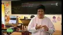 Sur FR5  Reportage dans l'émission : Les Maternelles sur FR5 : à l'école Ker Lann . Peut-on créer son école