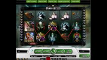 Blood Suckers Vampire video slot by NetEnt software free spin bonus game at online casino