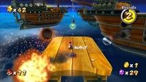 Super Mario Galaxy - Usine de vaisseaux - Étoile : Seul contre la flotte de Bowser