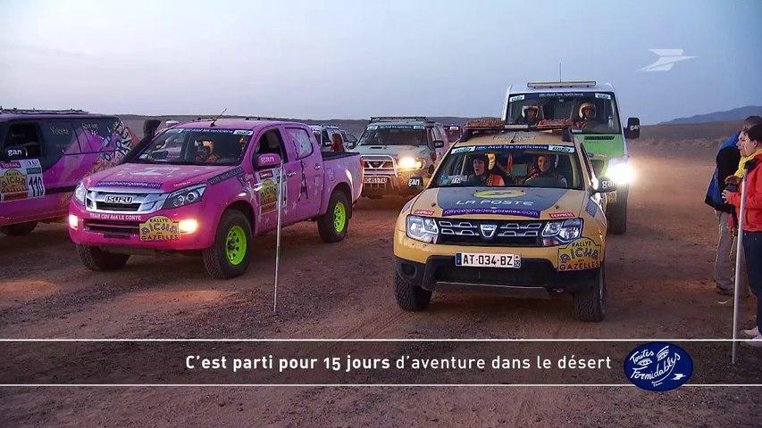 Les gazelles Postières au Rallye Aïcha des gazelles du Maroc 2014 / Groupe La Poste - Tous formidables - Toutes formidables