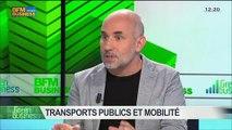 Transports publics et mobilité: Jean-Pierre Farandou, Pierre Serne et Pierre Lahutte, dans Green Business - 08/06 2/4