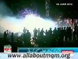 MQM workers & supporters celebrating at Karachi after Mr Altaf Hussain released on bail