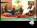 Geo Reports - 08 Jun 2014 - Imran Khan & sheikh Rasheed U turn