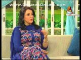 Saba Faisal telling how she became a news anchor and then started doing acting