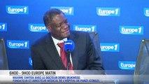 """Mukwege : """"Les viols font plus de dégâts que les armes"""""""